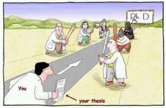 """The answer to the question """"how does it feel to be so close to your PHD"""""""