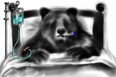 To remember the chemical symbol for Beryllium, think of a bear ill in Bed (Be).
