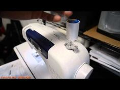▶ Winding a Bobbin: Brother cs6000i - YouTube