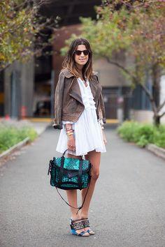 Vanessa Jackman: New York Fashion Week SS 2012...Leandra