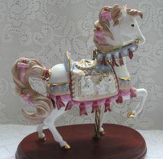 Lenox Limited Edition 2009 Christmas Nativity Carousel Horse