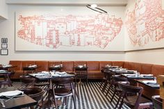 Spin Through Tratto's Light and Arty Interior in The Marker Hotel - Eater SF