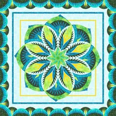 Check out this original color-way designed by judy50c a. Sign up on www.quiltster.com to create your own.