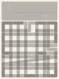 Atlas Sound - Noise Pop 20 poster | Designer: Jason Munn - http://jasonmunn.com