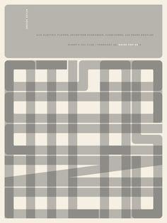 atlas sound poster by jason munn