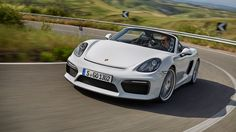 Full independent road test review of the new 2015 Porsche Boxster Spyder. CAR magazine UK's first drive, spec, gallery and information