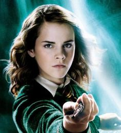 Hermoine Granger! She is soooo smart!