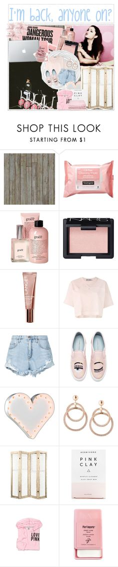 """""""Is anyone alive?"""" by camistouch ❤ liked on Polyvore featuring Piet Hein Eek, Neutrogena, philosophy, NARS Cosmetics, Lancer Dermatology, adidas, Nobody Denim, Chiara Ferragni, Vintage Marquee Lights and Herbivore"""