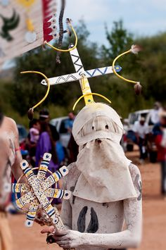 Young Apache Clown  A Native American, an Apache