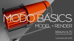 Gumroad – Modo Basics: Blade Runner Prop Braun HL70