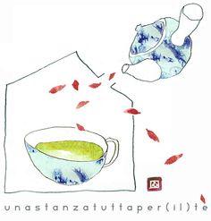 cobrizo: Una stanza tutta per (il) tè
