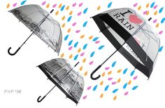 #likes4likes #love #instamood #inspiration #fashion #fashion #onlineshop mundo geek #original #newcollection #paraguas #umbrella #salvadorbachiller #style #creative #unique #rain #happy #trends #topshop #musthave #girls Ideal paraguas para las tardes de paseos