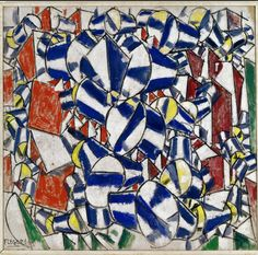 Fernand Léger, (French, 1881-1955) Title	Contrast of Forms 1913 Oil on canvas 100.3 x 81.1 cm The Museum of Modern Art The Philip L. Goodwin Collection Accession Number	103.1958