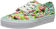 Vans Camden Stripe Flamingo Mint Kids Outer Material: Canvas Inner Material: Fabric Sole: Gum Rubber Closure: Lace-Up Heel Type: Flat