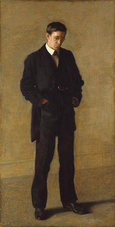 The Thinker: Portrait of Louis N. Kenton   1900   Thomas Eakins (American)   Oil on canvas   The Metropolitan Museum of Art