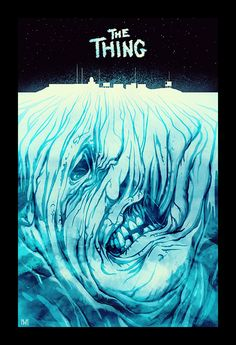 Image from fantasy and syfy..with some cats..NSFW — midnightmurdershow: The Thing poster by norbface