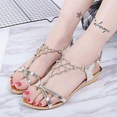 Sandalias Online Chaussure De Plage, Sandales, Sandales Compensées,  Magnifiques Sandales, Sandales Pour 4e1e16227a48