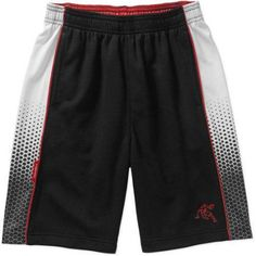 AND1 Boys' Infinite II Boys Basketball Short, Size: 14/16, Black