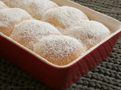 České buchty Polish Recipes, Russian Recipes, Dairy, Bread, Baking, Sweet, Desserts, Food, Buns