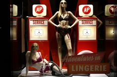 The World's Fashion Windows, Online in Real-Time · Agent Provocateur, New York,  February 2013