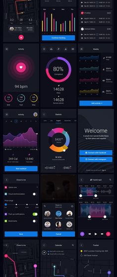 Pin is a huge set of pre-made UI elements that will help you to speed up your…. If you like UX, design, or design thinking, check out theuxblog.com