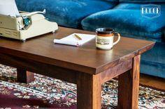 Handmade Imbuia Coffee Table. Exotic Hardwood. Made by Gudde Co in Austin, TX.