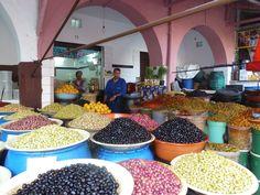 Olive Market, Casablanca, Morocco