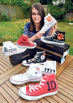 Snazzy Converse designs