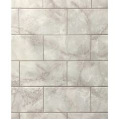 Dpi Aquatile 4 X 8 Metroliner White Bath Tileboard Wall