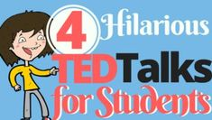 Hilarious Ted Talks for the Classroom is part of subjects School Student - Funny Ted Talks to use with middle & high school students to teach delayed gratification, not procrastinating, overcoming rejection, and playing as an adult Ted Talks Leadership, Ted Talks Education, Gifted Education, Special Education, Leadership Classes, Education Humor, Leadership Activities, Character Education, Leadership Development