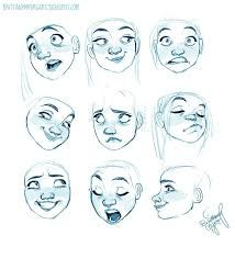 Image Result For Excited Expression Animation Drawing Cartoon Faces Drawing Expressions Drawing Cartoon Characters