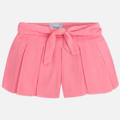 Mayoral – Girl Shorts With Bow and Pleats