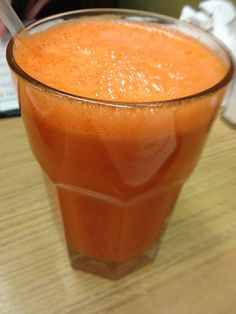 Wake Up Call Juice ~ Carrot, Apple, and Ginger!