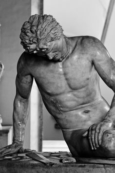 The Dying Gaul; Musei Capitolini, Rome, Italy.  Superb!