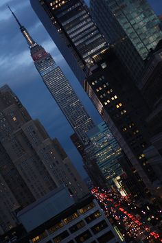 New York City, I lived on block from the Empire State Building for 12 years. City Photography, Landscape Photography, City Wallpaper, City Aesthetic, Dream City, Concrete Jungle, Urban Landscape, City Lights, Empire State Building