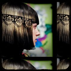 Betsey Johnson Fall 2011 - Lacey hair
