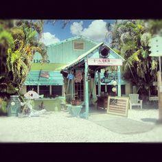 Beach shack, Gasparilla Island, FL, 2010.