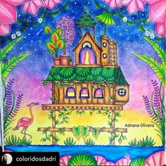 Adult Coloring, Coloring Books, Coloring Pages, Johanna Basford Coloring Book, Wallpaper, Illustration, Artist, Painting, Instagram