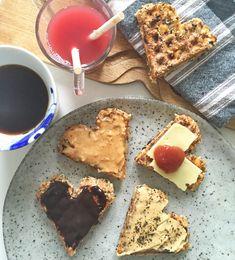 vafler til morgenmad - sunde og nemme og med pålæg