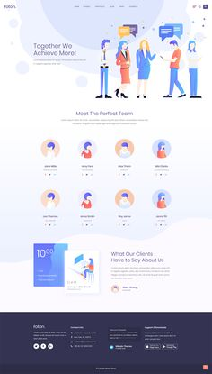 Let your talented team members shine with Foton WordPress theme! Web Design Websites, Leadership Lessons, App Landing Page, Ice Breakers, Competitor Analysis, Meet The Team, Team Member, Lorem Ipsum, Cryptocurrency
