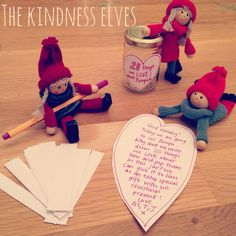 kindness elves 20 things I love about you jar