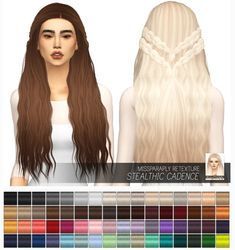 Miss Paraply: Stealthic Cadence: solids • Sims 4 Downloads