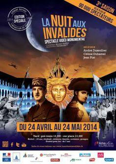 La Nuit aux Invalides 2014 #musee #invalides #3D