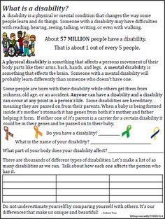 Empowered By THEM: Teaching Disability Awareness