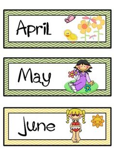 MONTHS OF THE YEAR FLASHCARDS WITH AMERICAN SEASONS - TeachersPayTeachers.com