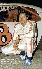 DALE EARNHARDT  IN  HIS  EARLY  DAYS
