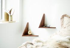 Butterfly shelf - pair designed by Poul Cadovius at twentytwentyone