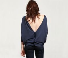 {The Backless Drapery Top} Samantha Eng