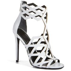 Sergio Rossi Tresor Crystal Cutout High Heel Sandals (23,005 MXN ...