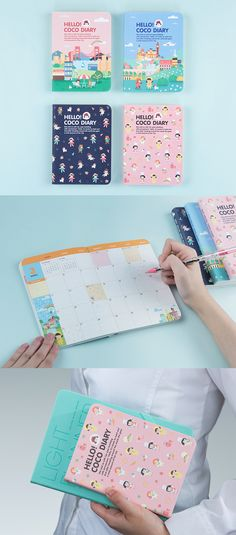 Live life and plan your days in the wonderfully adorable world of Coco. Filled with colorful illustrations throughout, the 2017 Hello Coco Diary Planner is the cutest way to plan! Each month also has a budgeting section to help you spend & save smart. ^.~*